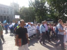 Manifestación Madrid 10-09-2012